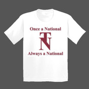 Youth - Once a National T-Shirt